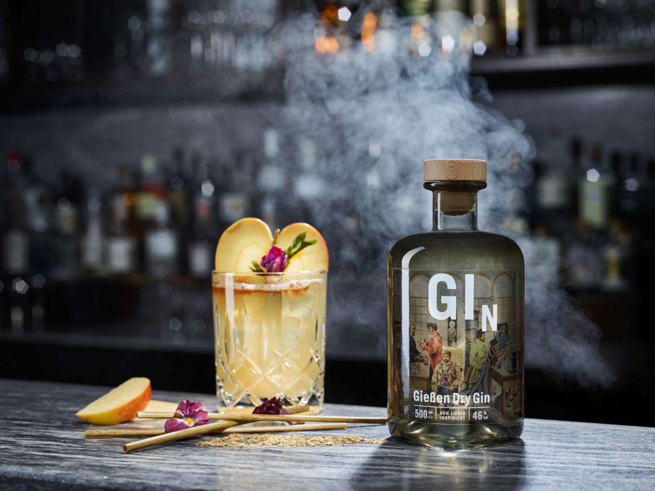 Giessen Dry Gin | Foto Werbung Werbefotografie Produktfoto